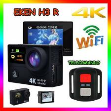 EKEN H3 R 4K WIFI SPORT ACTION CAMERA TELECOMANDO 12MP VIDEOCAMERA GO PRO
