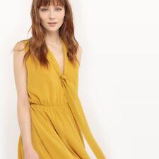 76d20cbead Molly Bracken Floaty Pussy Bow Dress Yellow Size 6-8 rrp £75 DH079 JJ