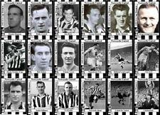 Newcastle United 1955 FA CUP WINNERS FIGURINE DI CALCIO