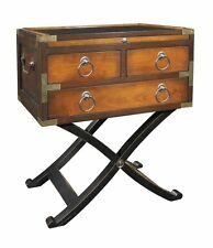 G726: Console Table Colonial Style, Travel Commodes Table, Cabinet in Maple