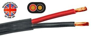 Thin Wall TWIN CORE cable 2 x 1.5mm² (16AWG) 21amp, Auto, Marine,    TCC215TW
