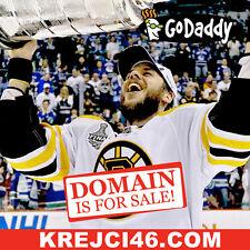 KREJCI 46 .COM - Boston Bruins David Krejci - Hockey NHL Domain Name - GoDaddy