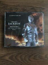 Michael Jackson History 2 Disc CD Set Hits Best Of Cds Ex
