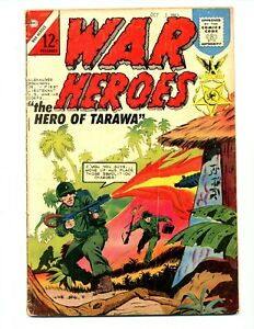 War Heroes #6    Flame Thrower Cover