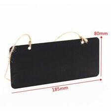 Wedding Decoration Vintage Mini Wood Blackboard Rope Memo Message Board