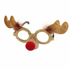 Novelty Christmas Glasses - Fancy Dress - Reindeer