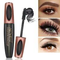 ALIVER 4D Silk Fiber Eyelash Mascara Waterproof Natural Extension T5H1 Last R0L4