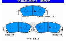 ATE Juego de pastillas freno Antes HONDA CIVIC ACCORD CR-V HR-V 13.0460-5982.2