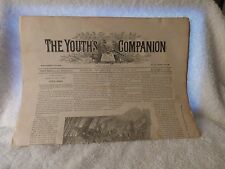 August 14 1890 The Youths Companion 8 Page Newspaper Vol 63 No 33 Little Jarvis