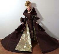 1996 Mattel Barbie Portrait In Taffeta Couture Doll Damaged Face