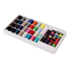 60pcs Sewing Kit Sewing Thread Storage Box Travel Set Sewing Machine Bobbins