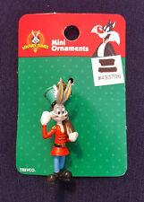 Warner Brothers Looney Tunes Bugs Bunny Soldier Mini-Figure Ornament CVS 1999