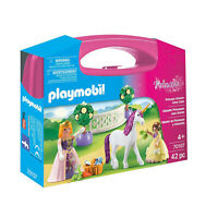 Playmobil Princess Unicorn Carry Case Building Set 70107 NEW Learning Toys