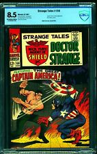 Strange Tales #159 CBCS VF+ 8.5 Off White to White Nick Fury Captain America!