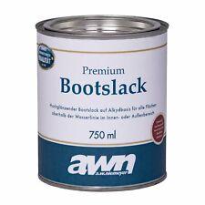 AWN Premium bootslack 0,75 L Saphirblau RAL 5003 1k alkydbasis Bateau Yacht