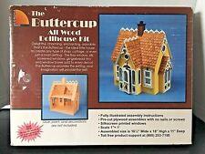 Buttercup Dollhouse All Wood Kit by Corona Concepts #9306 NIB 1995