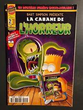 BART SIMPSON PRESENTE - T2 : La cabane de l'horreur - octobre 2001