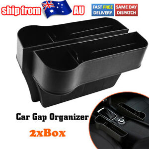 2X Car Seat Organizer Gap Pocket Interior Decoration Cup Holder Multifunctional