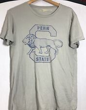 Retro Brand Penn State Vintage Grey  t Shirt Size Medium