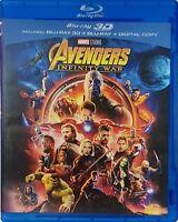 Avengers Infinity War 3D Blu-ray Marvel Region Free Best Deal....