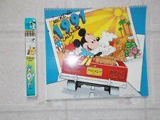 4 Old Disney Calendar