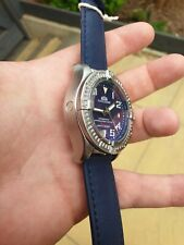 Mens Homage Watch Automatic Mechanical Avenger Colt Stainless steel 45mm BLUE