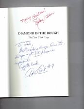 Diamond in the Rough : The Dave Clark Story by Dave Clark signed Autographed HTF