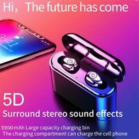 Bluetooth 5.0-Headset-Kopfhörer für drahtlose Ohrhörer Stereo-Kopfhörer IPX7