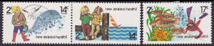 /NEW ZEALAND 1980 Health Sc#B108-8 3v set MH @S4827