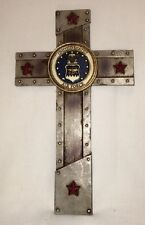 New 12 X 7 United States Air Force Wall Cross