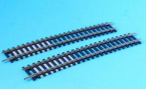 2x HORNBY R628 LARGE  RADIUS CURVE TRACK USE WITH Y POINTS R8076 NICKEL SILVER
