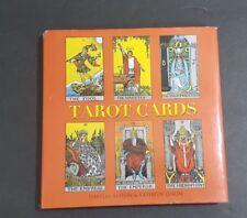 NEW Tarot Cards Minibook Hardcover Fortune Telling Seer Alston & Dixon 2014