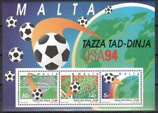 Malta Michelnummer Block 14 postfrisch (6407 - Fußball -WM 1994)