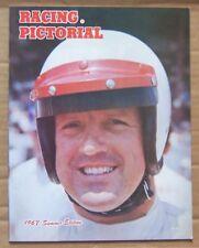 MAGAZINE ~ RACING PICTORIAL ~ 1967 SUMMER ~ NASCAR USAC IMCA LE MANS