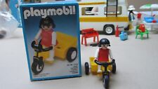 Playmobil 3359 tricycle , bicycle , boxed , vélo , kind, child , enfant .