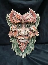 Green Leaf Man Ent Forest Gnomes Trolls Lord Rings Planter Ceramic Handpainted