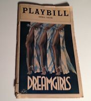 Playbill Dream Girls 1981 Imperial Theatre Sheryl Lee Ralph NYC Broadway Theater