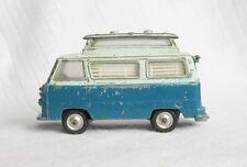 VINTAGE CORGI TOYS # 420 FORD Thames Airbourne Caravan ORIGINALE Diecast Blu