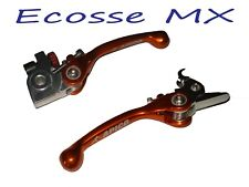 KTM SXF250 2006-2013 SXF350 2011-2013 APICO Orange Flexi Clutch Brake Levers