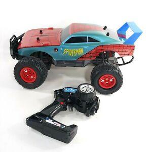 Jada Toys Spider-Man Dodge Charger Daytona 4x4 Elite RC w/Turbo Boost USB Charge