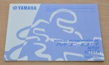 YAMAHA MT-07 MT07 MT07A Manual du Proprietaire Bedienungsanleitung Motor 2013