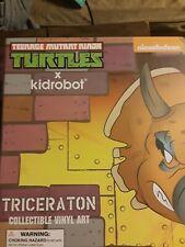 Triceraton Teenage Mutant Ninja Turtles X Kidrobot Collectible Nickelodeon Vinyl