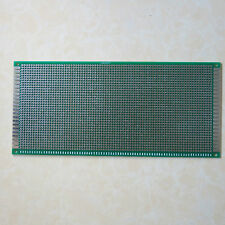 10x22cm doppelseitig pcb Lochraster Platine Leiterplatte circuit breadboard led
