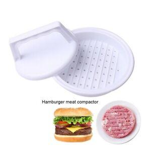 Kitchen Hamburger Meat Beef Maker Grill Burger Patty Press Mould Mold Tool UK