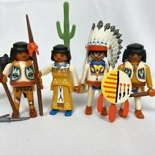 Playmobil Native America Indian Chief & Family w/ Horse  3876 7660 7841 Western