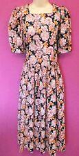 Laura Ashley Cotton Midi Floral Dresses for Women