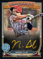 2020 Topps BUNT Nick Senzel Gypsy Queen S2 GOLD Signature ICONIC! [DIGITAL CARD}