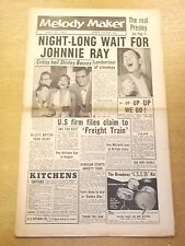 MELODY MAKER 1957 JULY 27 RAY ANTHONY GUY MITCHELL JAZZ BIG BAND SWING