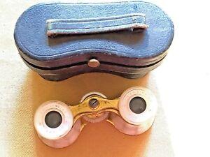 Vintage Lemaire - Paris Opera Glasses w Leather Case
