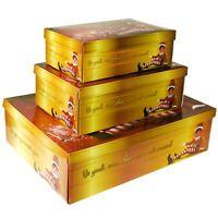 Christmas Hamper Gift Storage Xmas Festive Friends Present Surprise Package Box